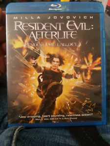 Resident eveil after life blue ray no scratches