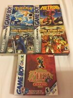 RARE! Complete GBA/Gameboy games for sale!