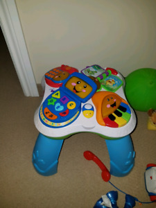 Baby playing centre