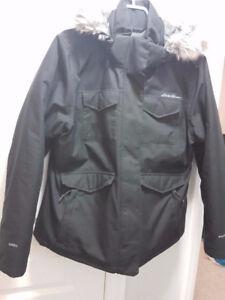Women's XXL(fit like XL) Eddie Bauer Winter Coat- Black