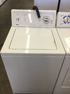 "Top Load 24"" Apartment Size White Kenmore Heavy Duty Dryer"