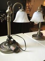 2 lampe chevet bureau appoint
