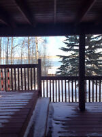 Studio suite on Cochrane Lake for rent - beautiful setting