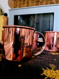 Russian Standard Copper Mugs