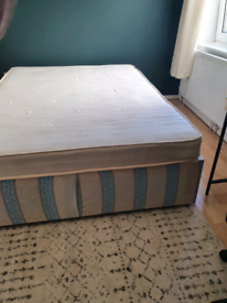 Free to pick up: king-size bed and mattress
