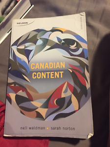 Canadian Content Textbook - Nell Waldman & Sarah Norton