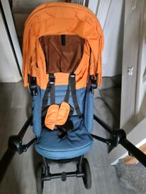 Cybex Eezy S Twist - Tropical Blue stroller