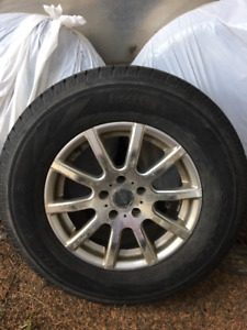 Pirelli Winter Tires/aluminum rims