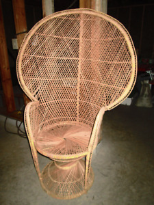 Wicker Chairs and Sofa Seat
