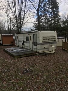 Travel Trailer in Beautiful Wildwood Conservation Area