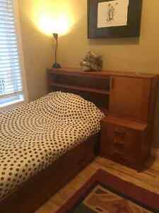 Teak Wood Captain's Bed