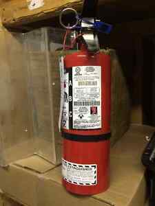 Brand new fire extinguisher (certified)