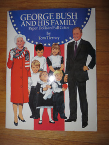 The Bush Family Paper Dolls- Funniest Gift Ever!!