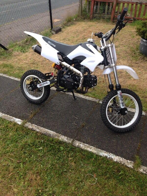 Akuma Pit Bike 125cc Off Road Bike In Dunoon Argyll And Bute