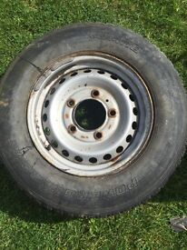 Land Rover defender full set of wheels and tyres