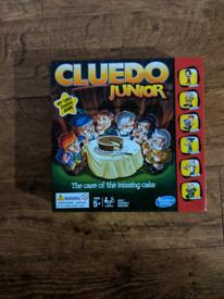 Cluedo junior game