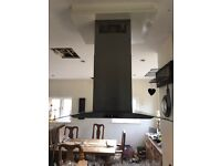 Extractor hood and fan