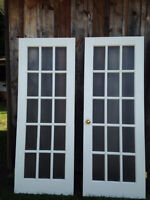 Beautiful French and Glass Doors for Sale (BEST OFFER)