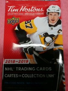 Looking for 2018/2019 Tim Hortons Hockey Cards