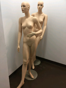 Female Mannequins - ideal for clothing displays