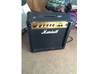 Marshall MG15CD guitar amplifier
