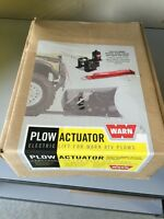Warn ATV PLOW winch kit. New