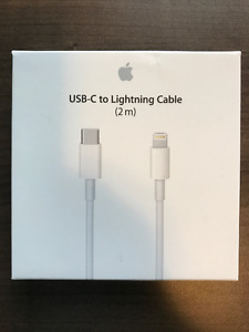 UBS-C to Lightning Cable (2m) & Charger