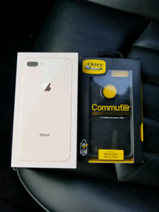 Brand New Gold iPhone 8 PLUS 64GB With Warranty + OtterBox