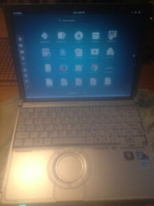 Panasonic Toughbook CF-T8 touchscreen bluetooth ultrabook laptop