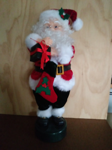"18"" Musical SANTA CLAUS: Dancing, Carols, Lights, Tested"