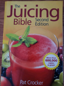 Juicing book for sale