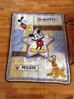Mickey Mouse crib set with mobile