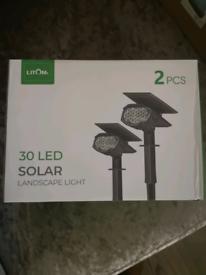 Led Solar Landscape Lights