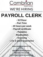 Payroll Clerk