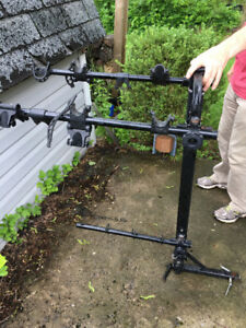 Hollywood 4 bike Hitch-mounted bike rack
