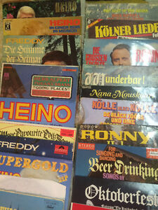 German records for sale approx 30