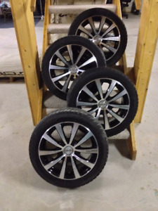 TOUREN TR3 10 SPOKE Rims & CHAMPIRO 328 GT M+S Tires