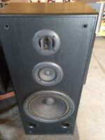 Large Technics Tower Speakers 3 way with 12 inch woofer USA