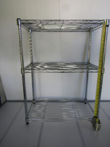 Storage-small  wire shelves-vintage trunk - see below for prices