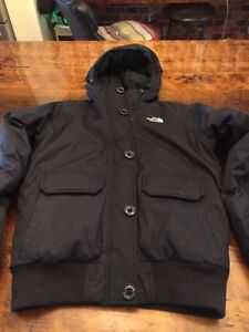 North face black women's down jacket size s excellent condition  Kitchener / Waterloo Kitchener Area image 1