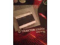 Traktor Audio 6 + timekode vinyls mkII + all cables
