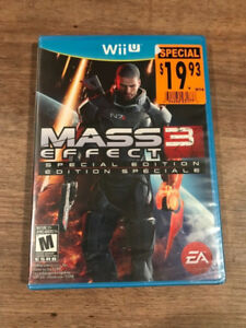 WANTED - Mass Effect 3 on Wii U