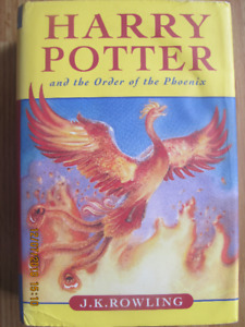 HARRY POTTER and the Order of the Phoenix – 2003 1st Edition