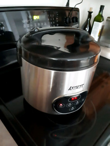 Aroma 10-Cup Digital Rice Cooker & Food Steamer