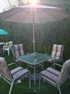 Beau set de patio a vendre