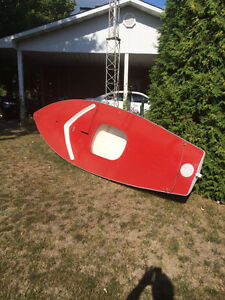14ft Fiberglass Sailboat