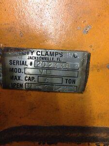 Steel clamp 6 tons Saint-Hyacinthe Québec image 2