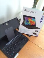 Tablet and Bluetooth keyboard