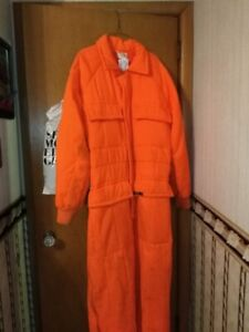 Work Snow suit. Worn once. Like new