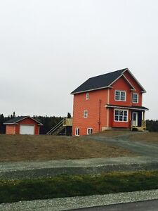 Brand New 2 Storey Home With Detached Garage In Torbay